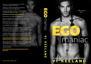 Title and Cover Reveal: Ego Maniac by Vi Keeland