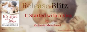 Release Blitz & Review: It Started With A Kiss by Melanie Moreland