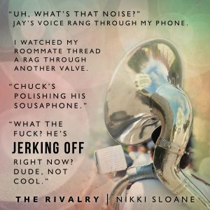Teaser: The Rivalry by Nikki Sloane