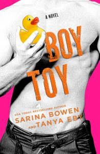 Cover Reveal: Boy Toy by Sarina Bowen and Tanya Eby