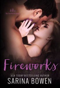 Cover Reveal: Fireworks by Sarina Bowen