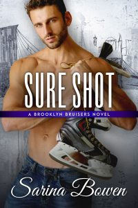 Cover Reveal: Sure Shot by Sarina Bowen